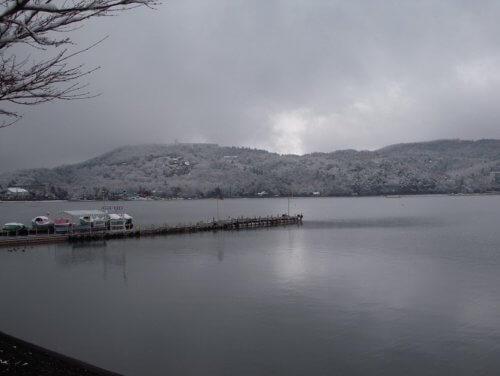 冬のバス釣り