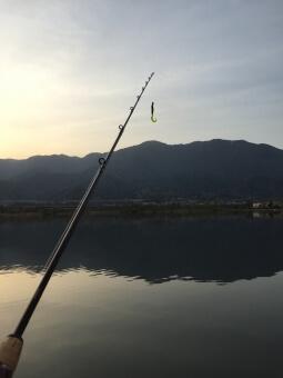 田貫湖でのバス釣り