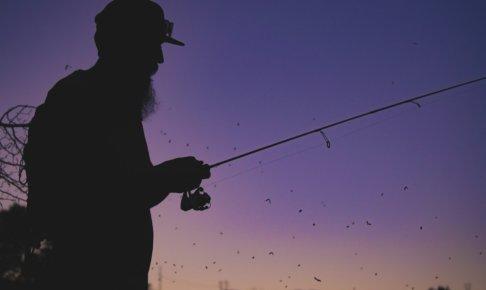 ブラックバス夜釣り