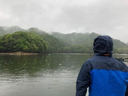 戸面原ダムのボートバスフィッシング