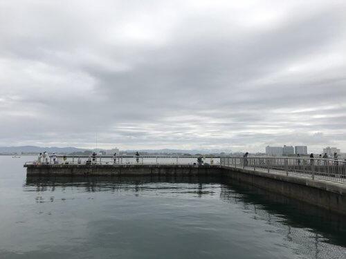 浜名湖・新居海釣り公園