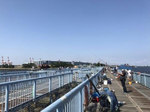 大黒ふ頭海釣り公園