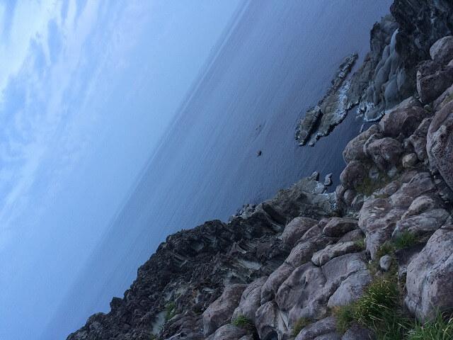 丹後半島の地磯で釣り