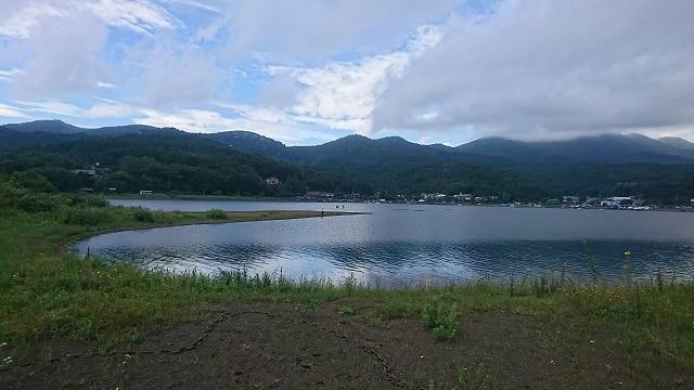 山中湖-平野ワンド