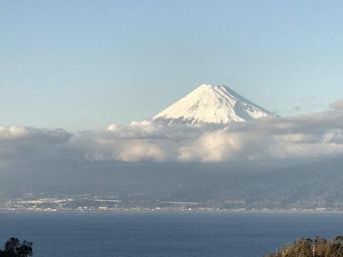西伊豆で富士山