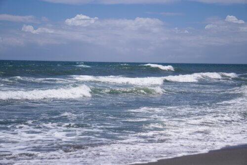 遠州灘(新居海釣り公園先)
