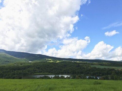 バラギ湖の風景