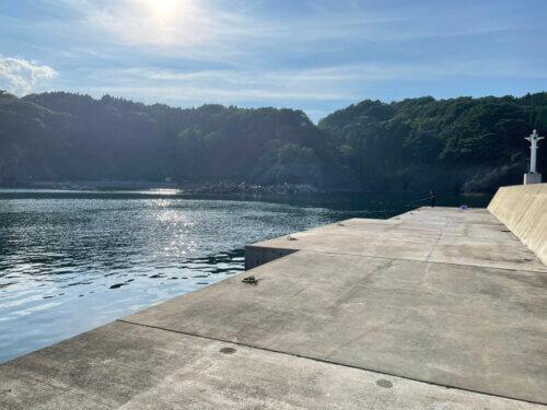蛸の浜漁港(岩手県宮古市)