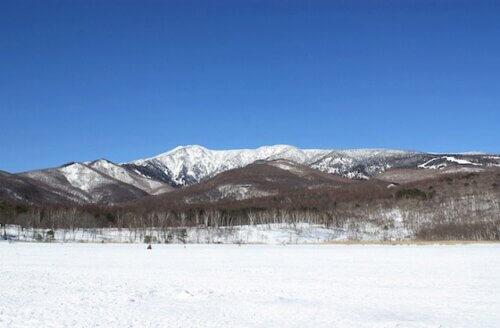 冬のバラギ湖